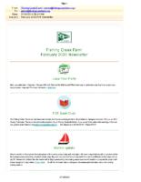 Feb 2020 FCF Newsletter
