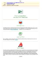 Jan 2020 FCF Newsletter