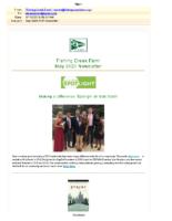May 2020 FCF Newsletter